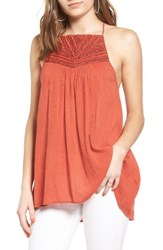 Sun And Shadow Women's Embellished High Low Tunic