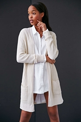 Silence And Noise Silence Noise Donna Cardigan Sweater Ivory