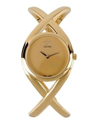 Ck Calvin Klein Timepieces Wrist Watches Women Gold