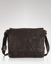 Frye Flap Messenger Bag Chocolate