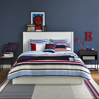 Tommy Hilfiger Colourful Stripes Duvet Cover Sky Multi
