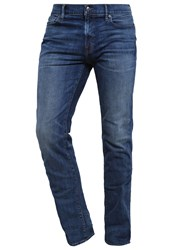 Abercrombie And Fitch Straight Leg Jeans Dark Wash Blue Denim