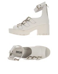 Swear London Footwear Sandals Women White