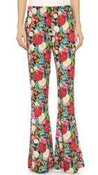 Wildfox Couture Boho Flower Bell Bottoms