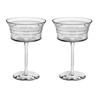 Vista Alegre Vinyl Martini Glass Set Of 2