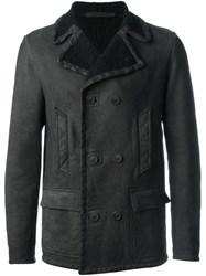 Salvatore Santoro Classic Aviator Jacket Brown