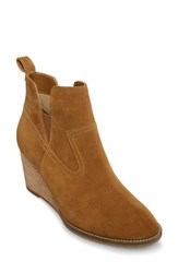 b13253050a4 Blondo Irving Waterproof Wedge Bootie Camel Suede