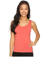 Nic Zoe Petite Perfect Tank Spice Rose Women's Sleeveless Orange