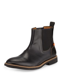 Paul Smith Kansas Combo Leather Boot Black