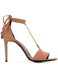 Pierre Hardy Blondie Sandals Nude Neutrals