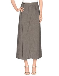 Novemb3r Skirts 3 4 Length Skirts Women Brown