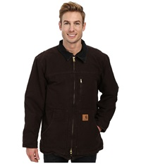 Carhartt Sandstone Ridge Coat Dark Brown Men's Jacket