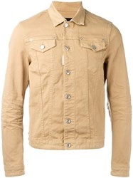 Dsquared2 Classic Denim Jacket Brown