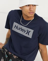 Hurley Core One And Only Boxed T Shirt In Grey