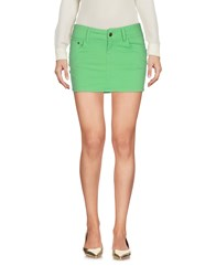 Paul Frank Mini Skirts Light Green