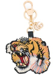 Gucci Tiger Keychain Women Leather One Size