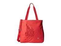 Haiku Journey Tote Bittersweet Cranberry Tote Handbags Red