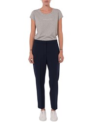 French Connection Whisper Ruth Tapered Trousers Nocturnal