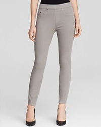 Spanx Cropped Denim Leggings Gray'd Out