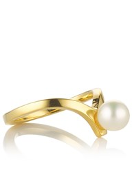 Smith Grey Gold Pearl Midi Ring