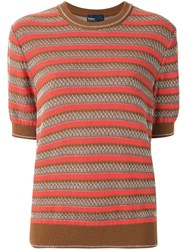 Kolor Striped Knitted Top 60