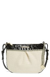 Brahmin Tara Embossed Leather Crossbody Bag