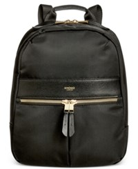 Knomo London Mini Nylon Backpack Black