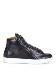 Mr. Hare Jack Johnson High Top Leather Trainers