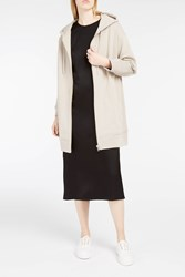 Alexander Wang T By Women S Oversized French Terry Hoody Boutique1 Beige