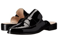 French Connection Louis Black Local Patent Leather Women's Flat Shoes