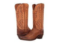 Lucchese Kd4502.54 Tan Burnished Women's Boots
