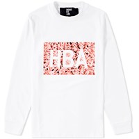 Hood By Air Long Sleeve Meat Box Tee White