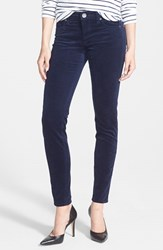 Women's Kut From The Kloth 'Diana' Stretch Corduroy Skinny Pants New Navy