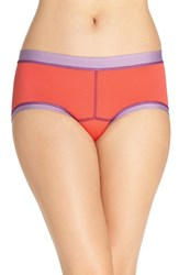 Exofficio Women's Give N Go Sport Hipster Briefs Hot Coral