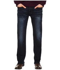 Buffalo David Bitton Six Slim Straight Leg Jeans In Authentic And Deep Indigo Authentic Deep Indigo Men's Jeans Blue
