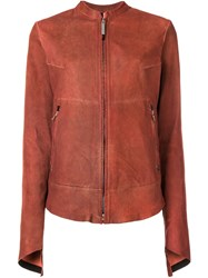 Isaac Sellam Experience Puffer Jacket Red