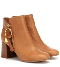 See By Chloe Louise Ankle Boots Brown