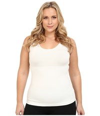 Spanx Plus Size In And Out Tank Top Powder Women's Sleeveless Beige
