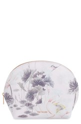 Ted Baker London Lake Of Dreams Cosmetics Case Dusky Pink