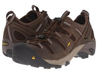 Keen Utility Atlanta Cool Esd Soft Toe Cascade Brown Forest Night Men's Industrial Shoes