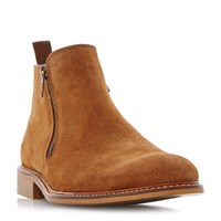 Dune Cassidy Suede Boots Tan