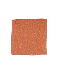 M.Grifoni Denim Square Scarves Ocher