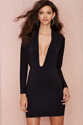 Nasty Gal Lavish Knit Dress
