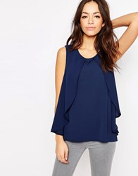 Only Overlay Shell Top Dark Navy