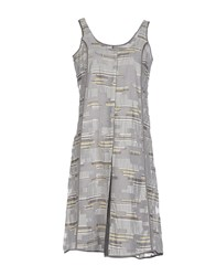 Crea Concept Dresses Short Dresses Women Grey