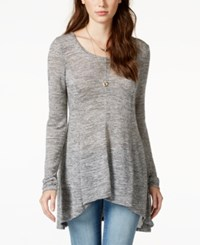 American Rag Space Dyed High Low Tunic Top Only At Macy's