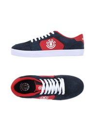 Element Footwear Low Tops And Trainers Men Dark Blue