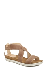Ecco 'Damara' Leather Sandal Women Birch
