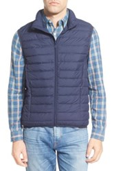 Nordstrom Packable Quilted Down Vest Blue