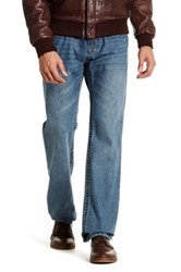 7 For All Mankind Straight Fit Jean 30 34 Inseam Blue